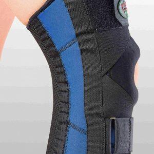 Бандаж для сильной фиксации колена и перекрестных связок