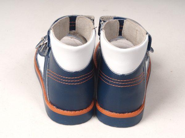 Сандалии детские профилактические Ortuzzi (синий/белый) по доступной цене в Бресте